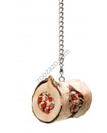JR Farm Woodroll - дървено руло за средни и големи Папагали 150 гр.