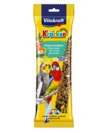 Храна за средни папагали - Vitakraft - Крекер мед и евкалипт 2бр.