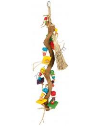 Trixie - Natural Toy - играчка за средни и големи папагали 56 см.