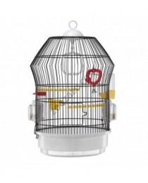 Кръгла клетка за малки птици 36.5 / 52 см. - Ferplast - Katy Black