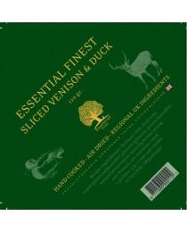 ESSENTIAL FINEST SLICED VENISON & DUCK - еленско и патешко месо 110 грама / резанчета /