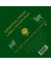 ESSENTIAL FINEST LAMB & VENISON BARS - с еленско и агнешко месо 3 броя / блокчета /