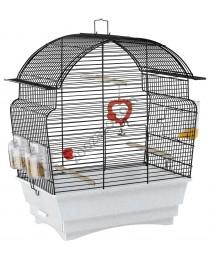 Клетка с пълно оборудване за малки птички 46.5 / 28 / 54 cм. - Ferplast - Rosa