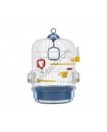 Кръгла клетка за малки птици ø 32.5 / 49 cм. - Ferplast - Regina White