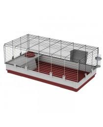 Клетка с пълно оборудване за мини зайчета - 120 / 60 / 50 cм.