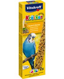 Храна за вълнисти папагали - Vitakraft - Крекер сусам и банан 2бр.
