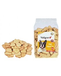 Vadigran SNACK DOG BISCUITS DUO HEARTS - деликатесни бисквитки, сърца 500 гр.