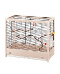 Клетка за канарчета, вълнисти папагали и екзотични птички 69/34,5/58см. - Ferplast