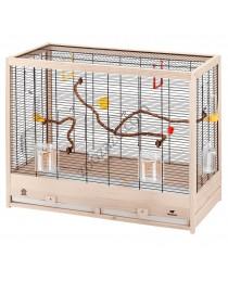 Клетка за канарчета, вълнисти папагали 81/41/64 см. - Ferplast - Giulietta 6