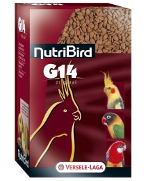 Versele Laga NUTRIBIRD - пълноценна екструдирана храна за средни папагали 1 кг.