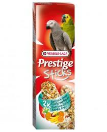 Sticks Parrots Exotic Fruit - Стик за големи Папагали с екзотични плодове - 2 бр х 70 гр.