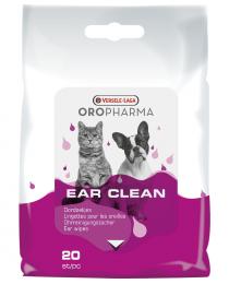 Мокри кърпички за почистване на уши 20 бр.