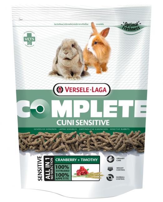 Versele Laga Cuni Sensitive Complete - за зайчета с намалена активност 500гр.