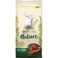 Versele Laga Nature Cuni Junior - храна за мини зайчета до 8 месечна възраст 2.3 кг.