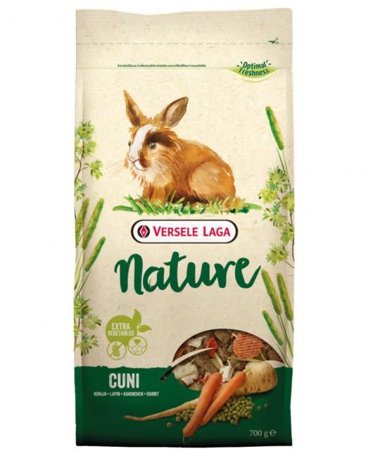 Versele Laga Nature Cuni - пълноценна храна за мини зайчета 9 кг.