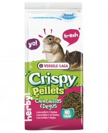 Versele Laga Crispy Chinchillas Degus - пълноценна храна за чинчили и дегу 1кг.