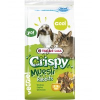 Versele Laga Crispy Muesli Rabbits - пълноценна храна за декоративни зайци 400 гр.