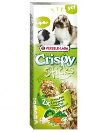 Крекер за Декоративен Заек и Морски Свинчета със Зеле 2 бр. - Versele Laga Crispy