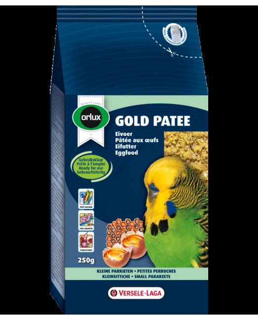 Versele Laga Gold Patee Small Parakeet - мека яйчна храна за Вълнисти Папагали 250 гр.