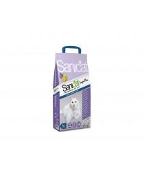 Sanicat Superplus - котешка тоалетна с двоен аромат на лавандула и портокал 10л.