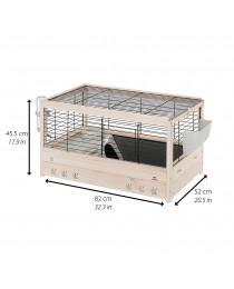 Клетка с пълно оборудване, за морски свинчета 82 / 52 / 45,5 см. - Ferplast