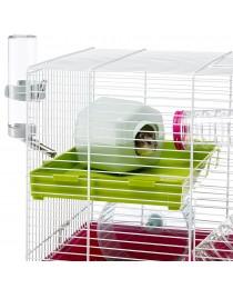 Оборудвана клетка за Хамстери и Мишки - Ferplast