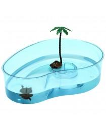 Ferplast - пластмасов аквариум за костенурки 31 / 22 / 7,5 cм.