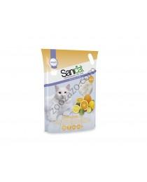 Sanicat - силиконова Котешка Тоалетна с аромат на Цитрусови Плодове 15 литра
