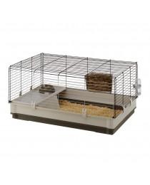Клетка с пълно оборудване за мини зайчета - 100 / 60 / 50 cм.