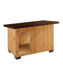 Ferplast Baita 100 - дървена къща за куче 122 / 79 / 78 cm