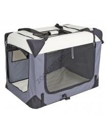 Транспортна клетка за Куче от плат 70 x 52 x 52 cм. - KERBL