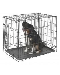 Клетка за Куче с две врати 76 x 54 x 64 cм. - KERBL