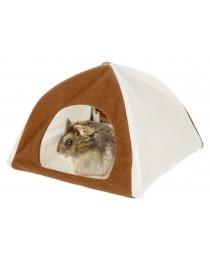 Палатка от плат с мека вълна за Хамстери и Мишки - KERBL