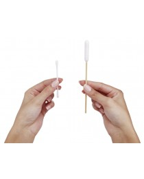 Клечки за уши - Памучна пръчка от бамбук 30 бр. - KERBL