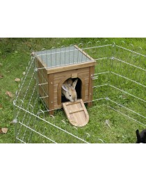 Къщичка за Декоративно Зайче за Заграждение на двора или у дома - KERBL