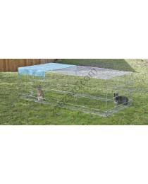 Клетка - заграждение за градината