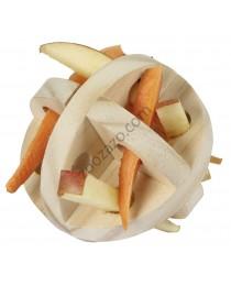 Дървена играчка за плодове и зеленчуци за Гризачи - KERBL