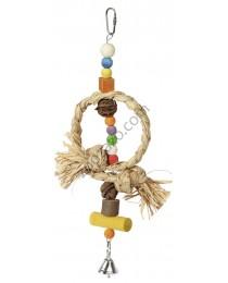Играчка за папагали и малки птици със звънче - KERBL