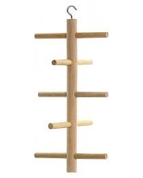 Дървена катерушка за папагали и други птички - KERBL