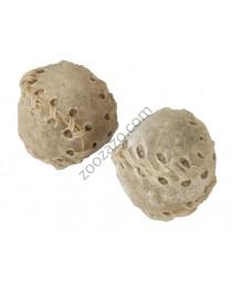 Лакомства за куче - Дъвчащи топчета от кожа - 2бр. - KERBL