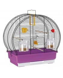 Клетка за малки птици 44.5 / 25 / 45.5 cм. - Ferplast - Luna 2 Black