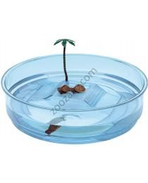 Ferplast - Plastic turtle bowls Oasi - пластмасов аквариум за костенурки ø 34,5 / 9,5 cm