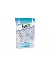 Sanicat Diamonds Natural - силиконова котешка тоалетна 5 литра / 2.4 кг. /