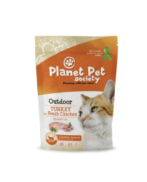 Planet Pet Turkey - пълноценна храна с пуешко месо, за котки отглеждани на открито 7 кг.