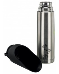 Trixie Thermos Flask with Drinking Bowl - термос за вода с купичка за пиене 500 мл.