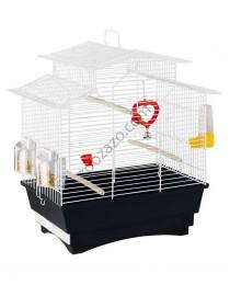 Клетка с пълно оборудване за малки птички 47/29.5/50 см. - Ferplast - Pagoda