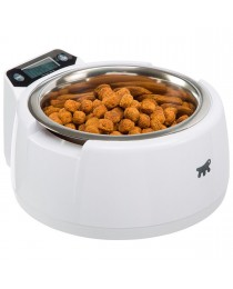 Ferplast - Optima - купа за хранене на кучета и котки с вградена електронна везна