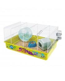 Клетка за Хамстери - Оборудвана 46 x 29 x 22,5 см.