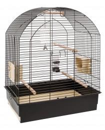 Клетка за средни и големи Папагали с пълно оборудване 69,5/44,5/84см. - Ferplast Greta