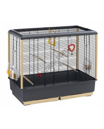 Клетка за малки птички с пълно оборудване 71.5 / 38 / 63 см. - Ferplast